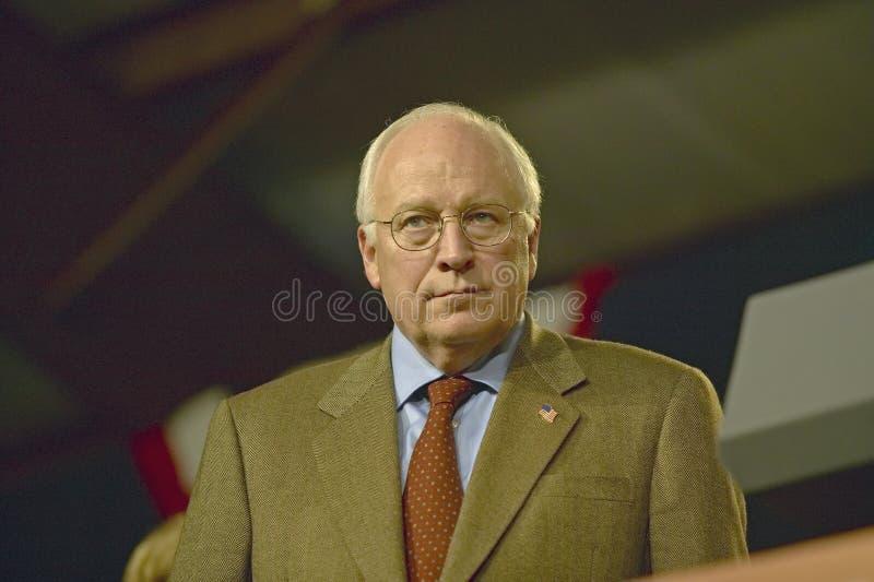 Vice presidentkandidat Dick Cheney royaltyfri foto