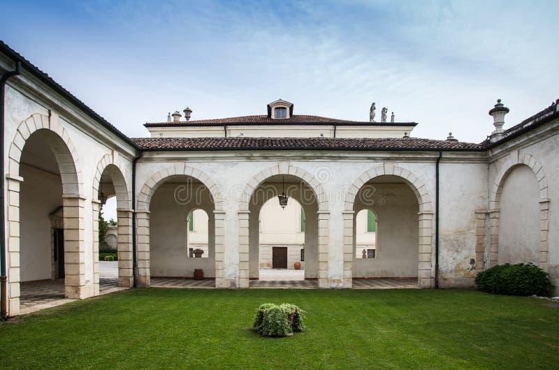Vicence, Vénétie, Italie - villa Cordellina Lombardi, construit dans 18t image libre de droits