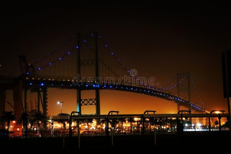 Vicent Thomas Bridge immagini stock libere da diritti