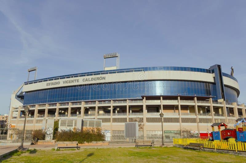 Vicente Calderon Stadium fotografía de archivo