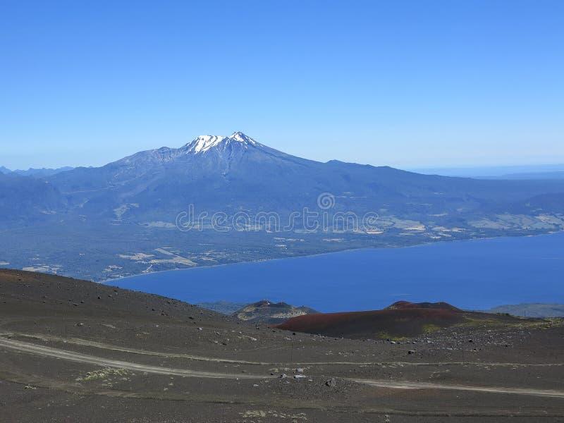 Vicente Perez Rosales National Park en Chile, Suramérica imagenes de archivo