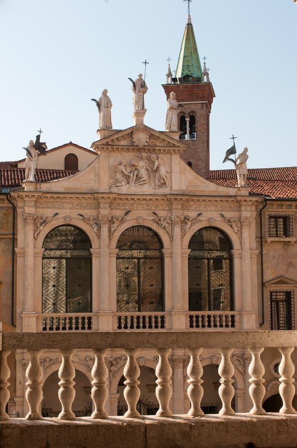 Vicenza arkitektur royaltyfria bilder