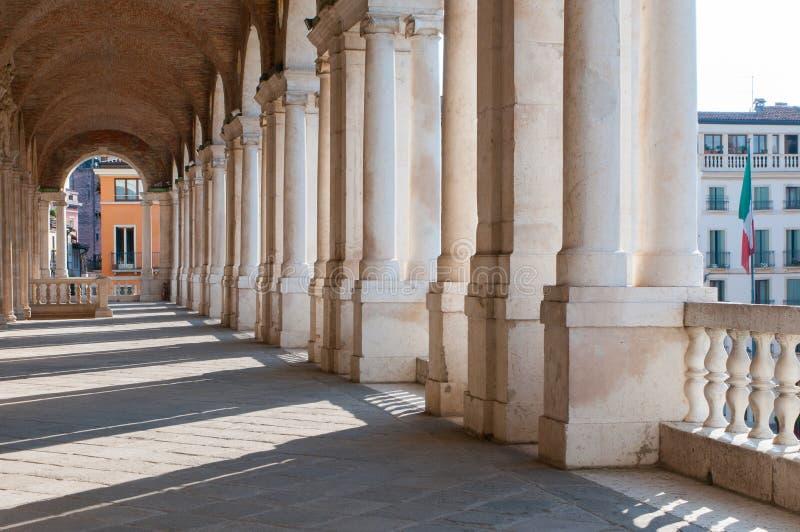 Vicenza arkitektur royaltyfri fotografi