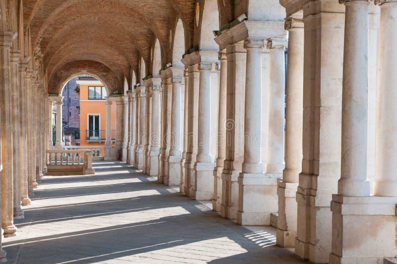 Vicenza arkitektur royaltyfri foto