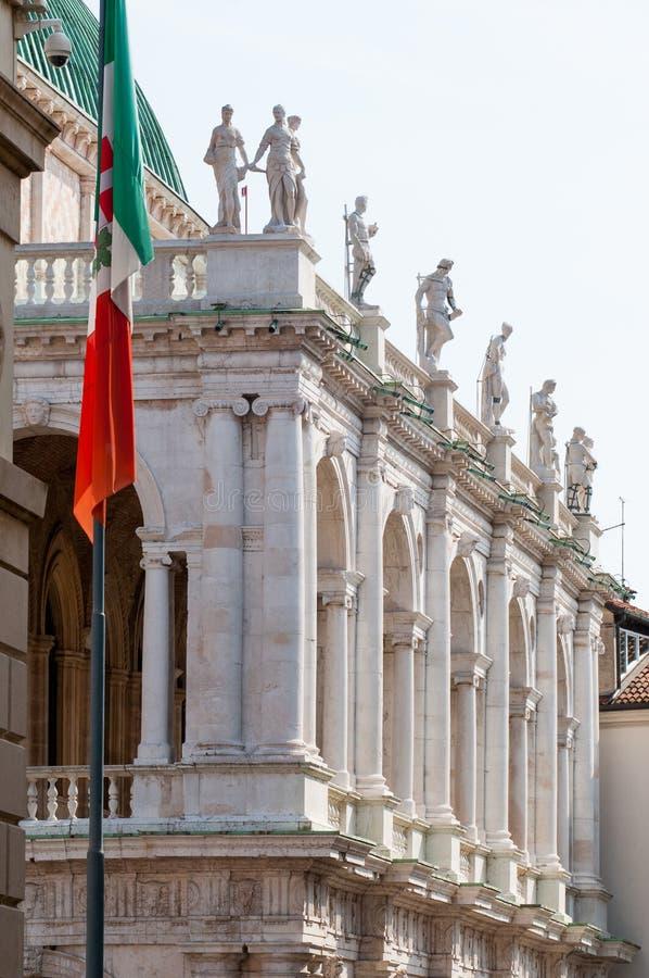Vicenza arkitektur royaltyfri bild