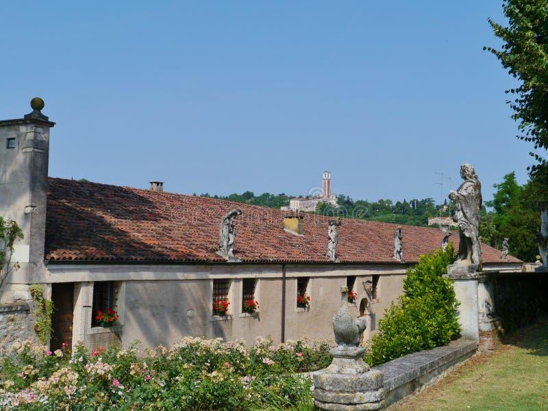 Vicenza i Italien royaltyfri fotografi