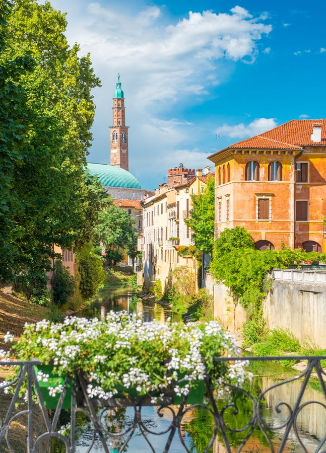 Vicenza, Italia foto de archivo libre de regalías