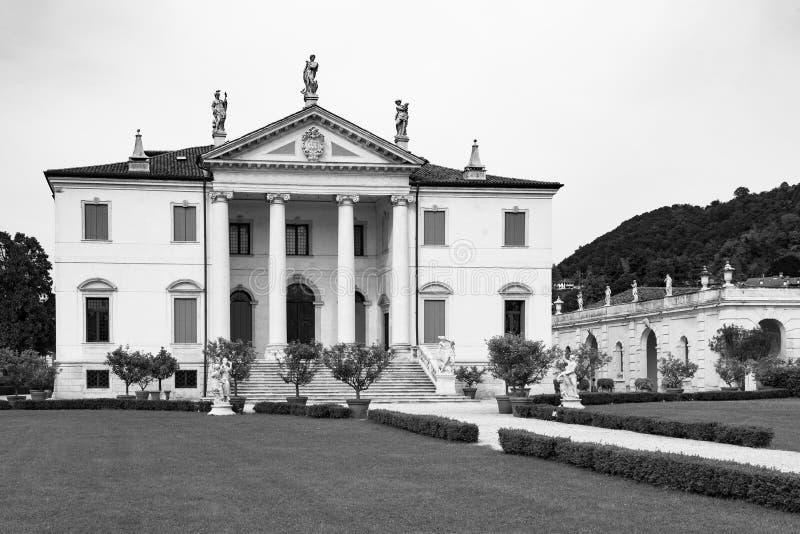 Vicenza, Veneto, Włochy - willa Cordellina Lombardi, budujący w 18t obrazy royalty free