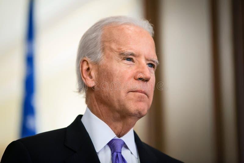Vicepresident av USA Joe Biden arkivfoto