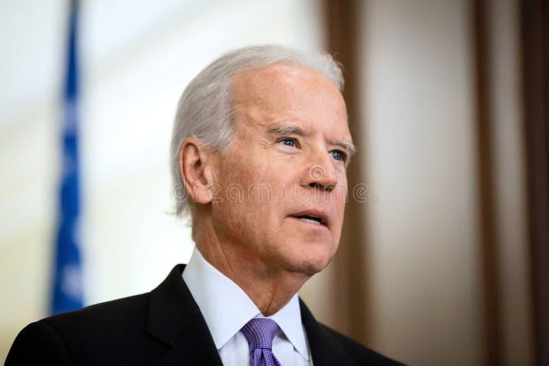 Vicepresidente di U.S.A. Joe Biden immagine stock libera da diritti