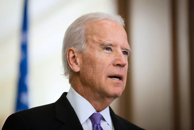 Vicepresidente di U.S.A. Joe Biden immagine stock