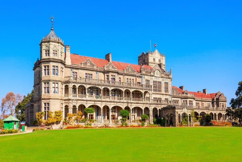 Viceregal κατοικήστε, Shimla στοκ εικόνες
