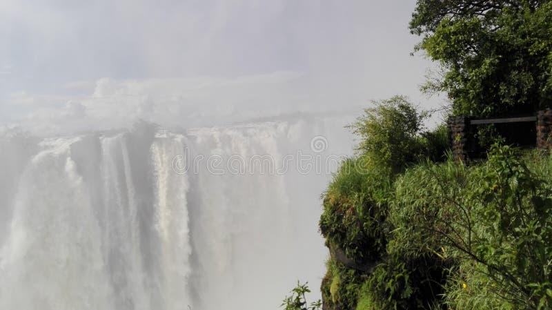 Vicfalls赞比西河赞比亚 免版税库存图片