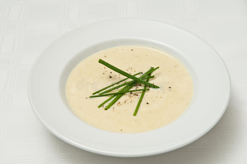 Vichyssoise Soup royalty free stock images