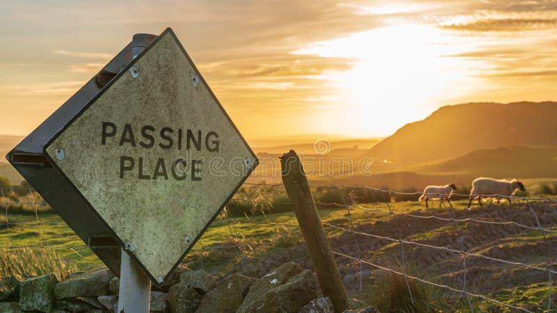 Vicino alla cassapanca, North Yorkshire, Inghilterra, Regno Unito fotografia stock