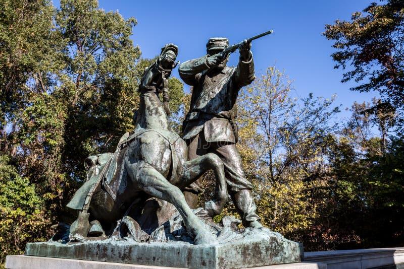 Vicksburg National Military Park stock photo