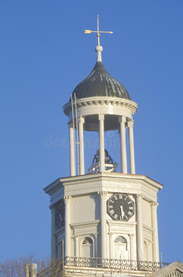 Free Vicksburg Old Courthouse Clock Tower On Mississippi River In Vicksburg, MS Stock Image - 52265441