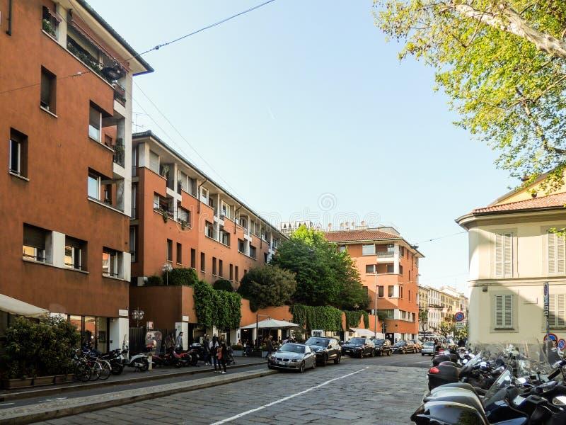Vico Magistretti Building imagens de stock