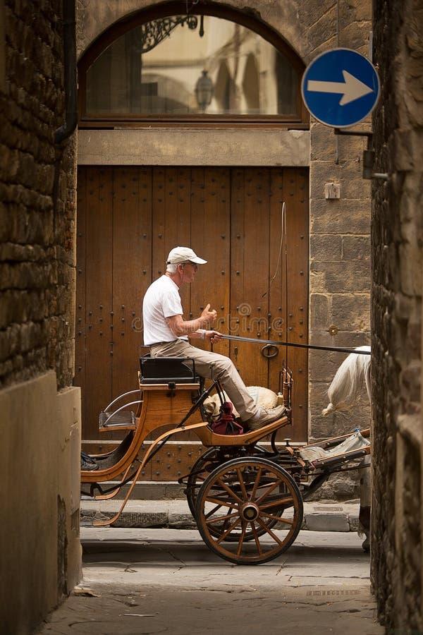 Vicoli antichi di Firenze immagine stock libera da diritti