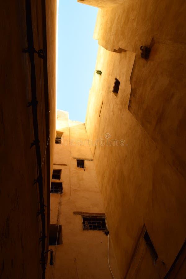 Vicoli del mercato di Fes, Marocco fotografia stock