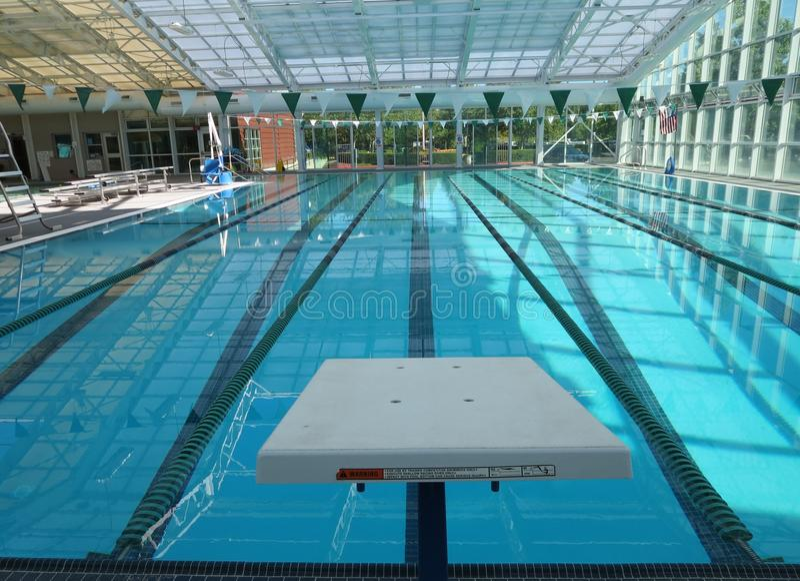 Vicoli della piscina fotografia stock libera da diritti