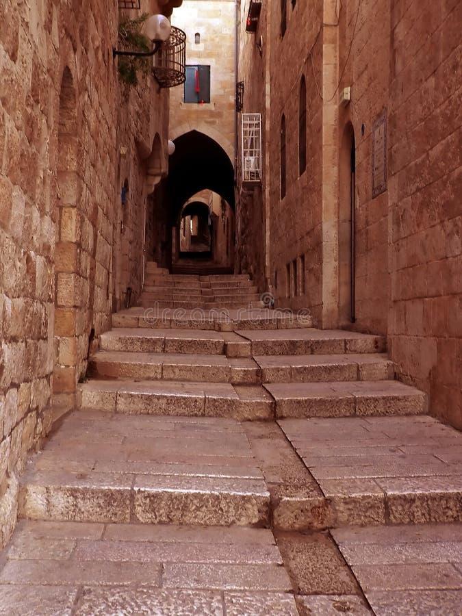 Vicolo #3 di Gerusalemme immagine stock libera da diritti