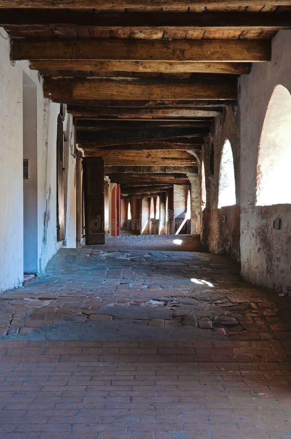 Vicolo degli asini. Brisighella. L'Emilia Romagna. L'Italia. immagine stock libera da diritti