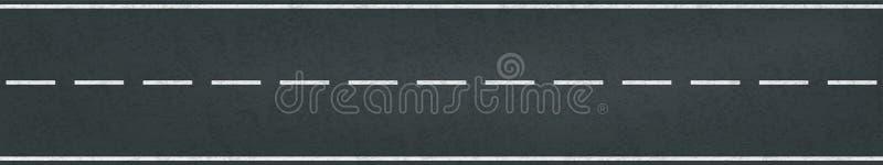 Vicolo della marcatura di traffico di vettore della strada della pista di corsa illustrazione vettoriale