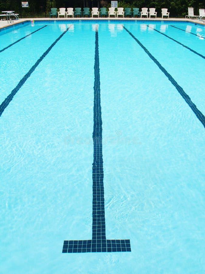 Vicolo di nuoto immagine stock