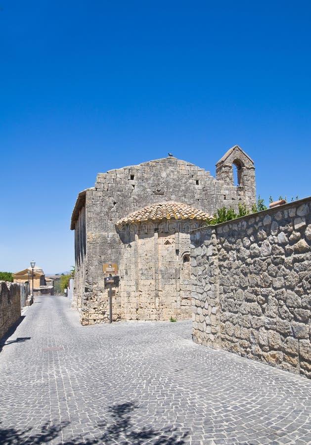 Vicolo. Tarquinia. Il Lazio. L'Italia. immagini stock libere da diritti