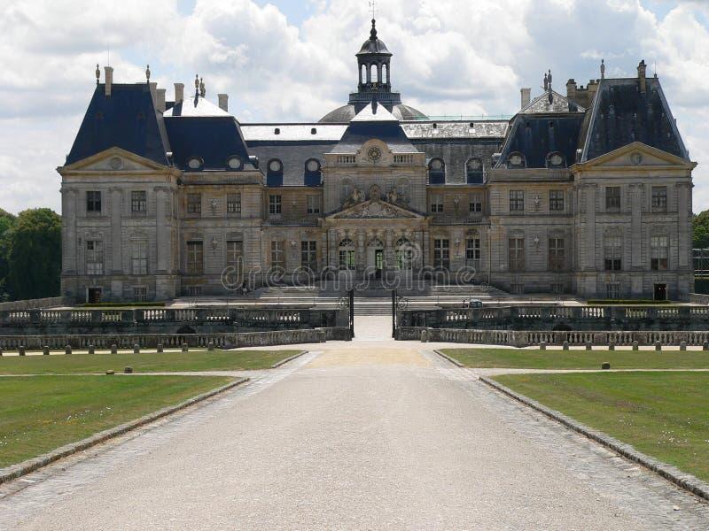 vicomte för chateaude france le vaux royaltyfria foton