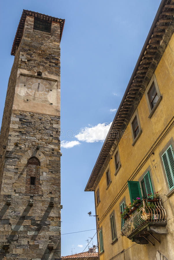 Download Vicopisano (Pisa) - Medieval Tower Stock Photo - Image: 30752024