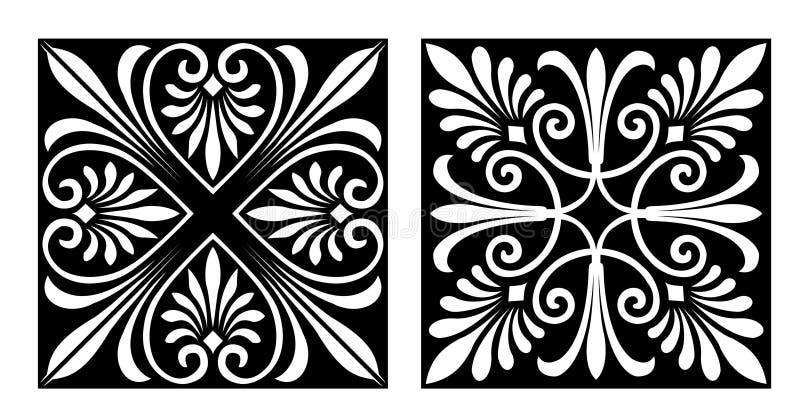 Vicrtorian Art-Auslegung lizenzfreie abbildung