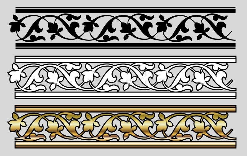 Vicrtorian Art-Auslegung vektor abbildung