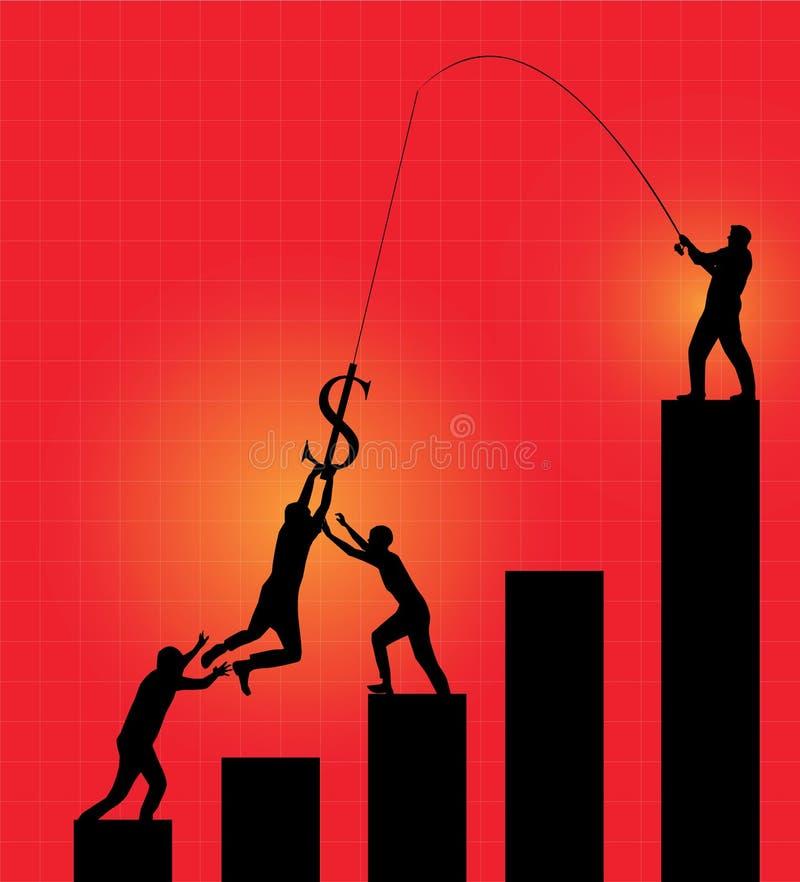 Download Victim of money stock illustration. Illustration of competition - 21736958