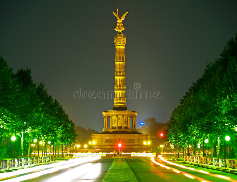 victoire de fléau de Berlin photographie stock libre de droits