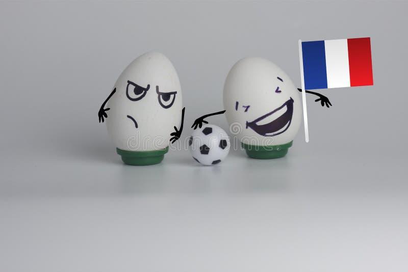 victoire de la France du football monde photos libres de droits