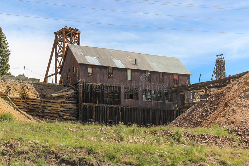 Victor Colorado, Gold Mine stock images