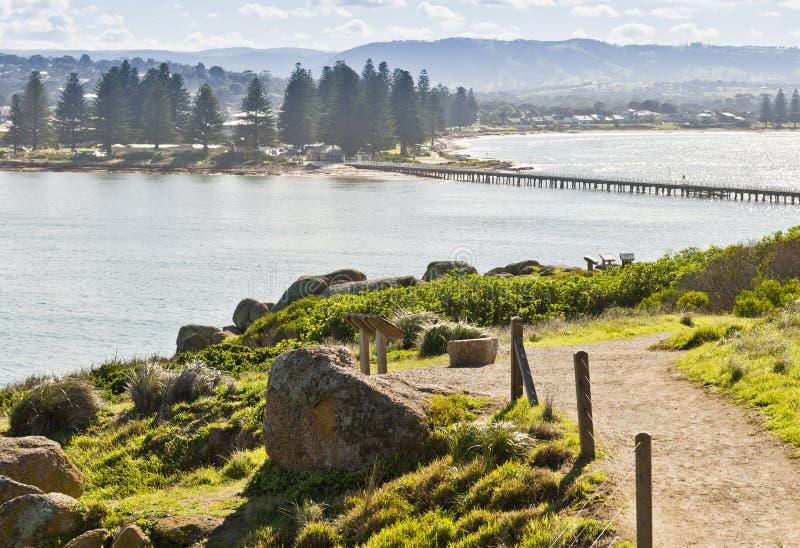 Victor Harbor södra Australien arkivbild