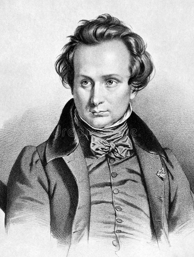 Victor Hugo lizenzfreie stockfotos