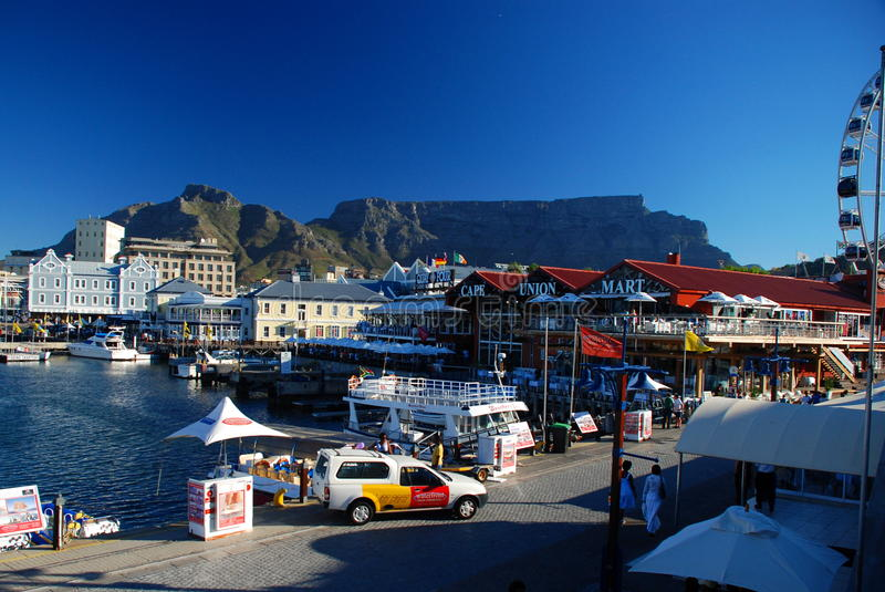 The Victoria & Alfred (V&A) Waterfront. Cape Town. Western Cape, South Africa stock photo