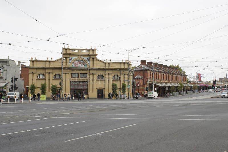 VICTORIA, AUSTRALIA, апрель 2019, люди на рынке Queen Victoria Market, Victoria Street, Carlton, Melbourne стоковые изображения rf
