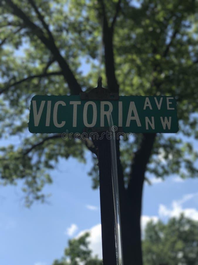 Victoria Ave stock afbeelding