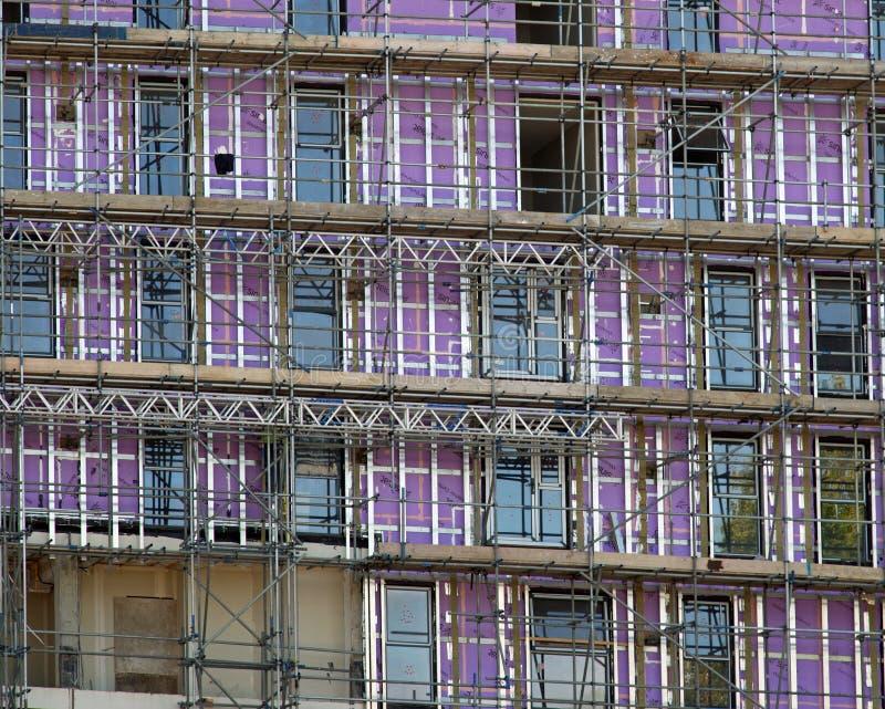 08/22/2017, Victoria Avenue, Southend sur la mer, Essex, Angleterre, travaux de construction photographie stock