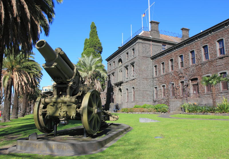 Victoria Barracks Melbourne fotografia de stock