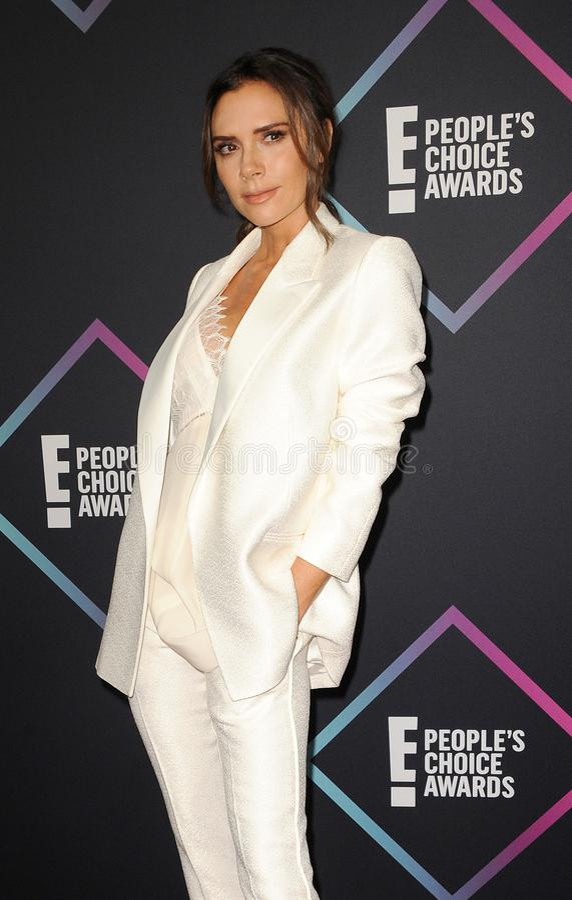 Victoria Beckham image libre de droits