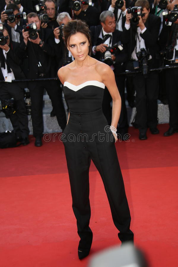 Victoria Beckham royalty free stock photography