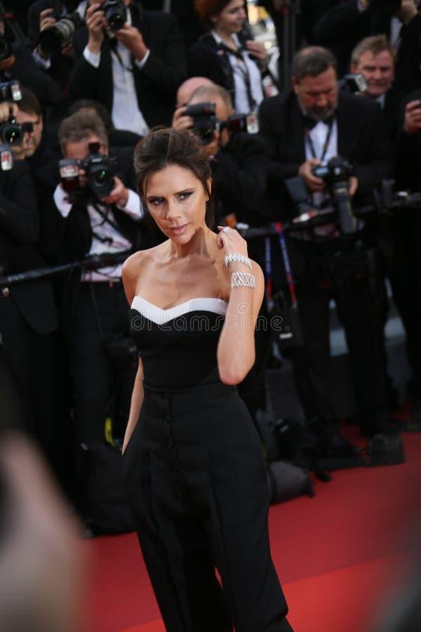 Victoria Beckham royalty free stock photos