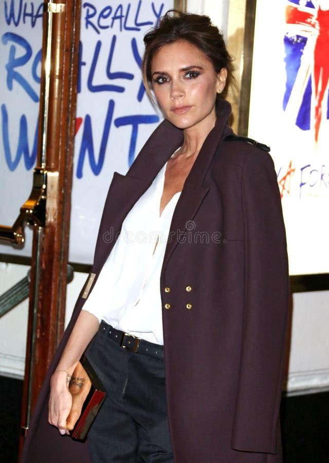 Victoria Beckham, Gewürz-Mädchen lizenzfreie stockfotos
