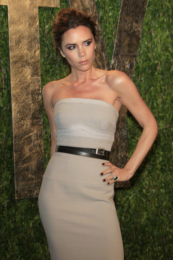 Victoria Beckham, Vanity Fair image stock
